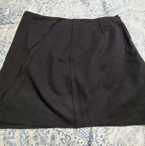 Black Kenneth Cole Mini Skirt